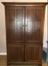 Tv Armoire Entertainment Center Solid Cherry Traditional