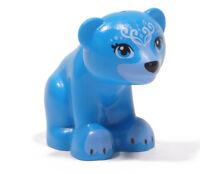 LEGO Friends Elves - Bär sitzend dunkel azur blau / 14732pb04 NEUWARE