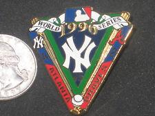 New York Yankees World Series Championship Pin 1996 vs Atlanta Braves PSG Inc