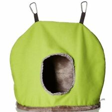 Prevue Pet Products BPV1165 Plastic/Fleece Snuggle Sack Bird Nest, Jumbo