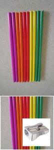 New 200 x Bulk  -  HB Lead Pencils Wholesale 175mm (Standard size) + a Sharpener