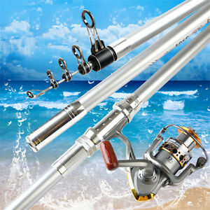 Superhard carbon telescopic long cast spinning rod Casting Weight:100-250g