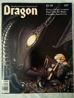 Vintage Dragon Magazine #97 Dungeons and Dragons May 1985 Good Condition