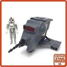 Vintage Star Wars Original Loose Mini Rig INT-4 Interceptor & AT-AT Driver ESB