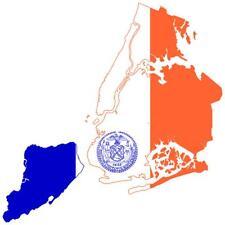 aufkleber sticker decal amerika flagge fahne landkarte karte new york city