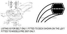 """Castel Garden Cutter Belt 36"""" Deck J92 JP92 JT92 JR92 JTP92 JX92 JX JB Pre 2007"""