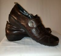 Romika Loafers Brown Leather Casual Shoes Womens Size 41 US 10/10.5
