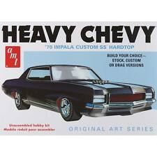 "AMT 1/25 1970 Chevy Impala Custom SS Hardtop ""Heavy Chevy"" PLASTIC MODEL KIT 895"