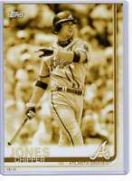 Chipper Jones 2019 Topps Update Complete Atlanta Braves Alumni 5x7 Gold #BAPC-4