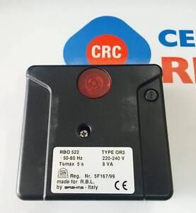 APPARECCHIATURA RBO522 RICAMBIO CALDAIE ORIGINALE RIELLO CODICE:CRC3003896
