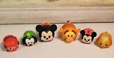 Disney TSUM TSUM Lot 6 Mickey Minnie Goofy Tigger More 6 Total