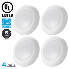 4 PACK Dimmable LED Surface Mount Downlight Kit Retrofit Recessed Light 5000K
