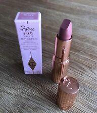 Charlotte Tilbury Matte Revolution Lipstick PILLOW TALK Full Size 3.5G New Boxed
