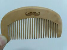 Wood comb beard comb fine tooth comb massage hair comb BEARD LOGO makeup sale