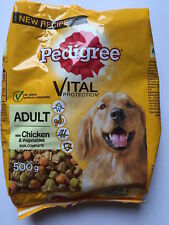 2 x Pedigree Vital Protection Biscuits Adult With Chicken 500g Each Dog Food