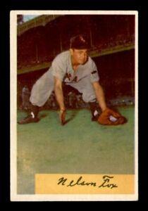 1954 Bowman Set Break # 6 Nelson Fox VG-EX - EX *OBGcards*