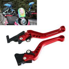 Dark Red CNC Motorcycle Drum Disc Hydraulic Line GY6 Brake Clutch Lever Grip Top