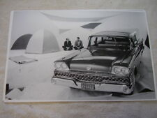 1959 FORD STATION  WAGON  CAMPING  11 X 17 PHOTO PICTURE