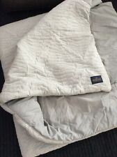 Pendleton Home Collection Comforter Gray Brushed Cotton Flannel F/Q