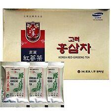 Original Korean Red Ginseng Tea 3g 100 Packets w/ Korean Ginseng Tea 3 Packets