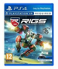 Rigs Mechanized Combat League VR Sony PlayStation 4 Ps4