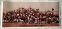 XL,HI-Q Poster of 1887 Buffalo Bill's Wild West Show 40x18 Geronimo,Annie Oakley