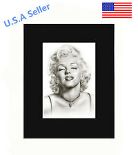 Marilyn Monroe 8x10 matted Art Print Poster Decor picture Gift Photograph