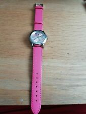 Ladies Pink Wrist Watch, Used, In Good Condition Very Pretty