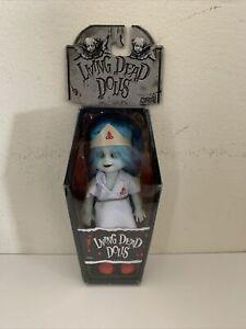 "Living Dead Dolls Nurse Mini 4"" Mezco Series 4 Sealed NEW in coffin Box"
