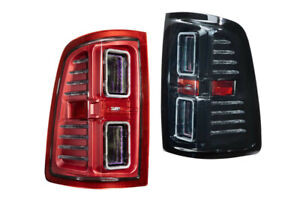 Morimoto XB LED Tail Lights Red/Smoked Plug & Play For 09-18 Dodge Ram 1500-3500