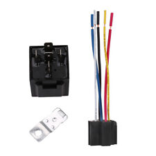 12V 30/40 Amp 5Pin Car SPDT Automotive Power Relay with Wires Harness Socket