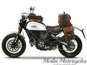Ducati Scrambler 800 SHAD SR18 Cafe Racer Style Tank Bag - Next Day Delivery