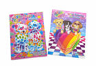 NEW Set of 2 Lisa Frank Coloring Activity Book and Paint with Water Books Set