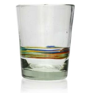 Glass Italian Style, Hand Blown from Recycled Glass - Fair Trade from Mexico