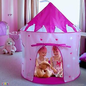 Casa Para Niñas Tienda De Campaña Con Luces Niña Princessa Rosada Tienda Jugar