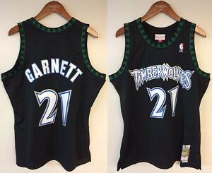Kevin Garnett Minnesota Timberwolves Mitchell & Ness Authentic 1997-1998 Jersey