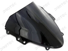 ABS Smoke Black Double Bubble Windscreen Windshield 04-2005 Suzuki GSXR 600 750