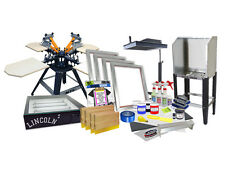 Diy 4 Color Shocker Start Up Screen Printing Kit Press Flash Exposure 44 1