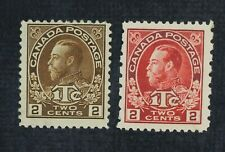 CKStamps: Canada Stamps Collection Scott#MR4 MR5i Mint H OG #MR4 Spot Thin