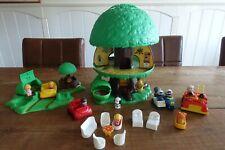 VERY COMPLETE RARE 1975 vintage Kenner family TREE TOTS TREEHOUSE Treetots SET
