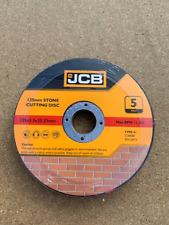 """JCB (5"""") 125mm x2.5mmx 22.23mm Bore STONE CUTTING DISC (8407) JOB LOT 200 DISC'S"""