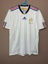France 2009-2010 Away Football Soccer Shirt Jersey Adidas Formotion Rare size M