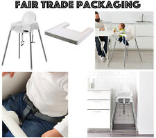 BABY HIGHCHAIR WITH SAFETY STRAPS u0026 MATCHING TRAY IKEA ANTILOP BABY HIGH CHAIR  sc 1 st  Ebay SG & IKEA Baby High Chairs | eBay