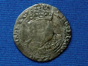 Ireland - Henry VIII Groat - Posthumous - Local bust - Dublin - mm boars head
