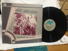 """LOUIS ARMSTRONG STRUTTIN WITH SOME BARBECUE VINYL LP RECORD 12"""""""