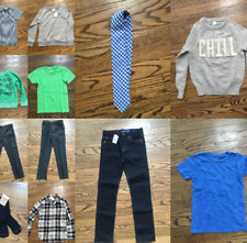 Crewcuts Boys Huge Back-to-School Lot! (12 Items - Tops, Pants & More) Size 6-10