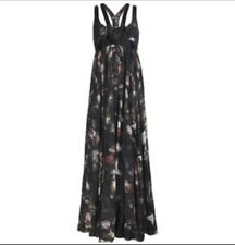 All Saints Lost Game Harness Maxi Dress Size 10