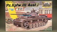Dragon 6954 1/35 WWII German  Pz.Kpfw.III Ausf.J 2 in 1 w Magic track