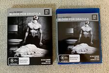 BLOOD FOR DRACULA Blu Ray & Slipcover Cinema Cult Media Horror Region B Udo Kier