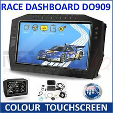 SincoTech DO909 - Colour Touchscreen Race Dashboard LCD Screen; Gauge Dash LCD